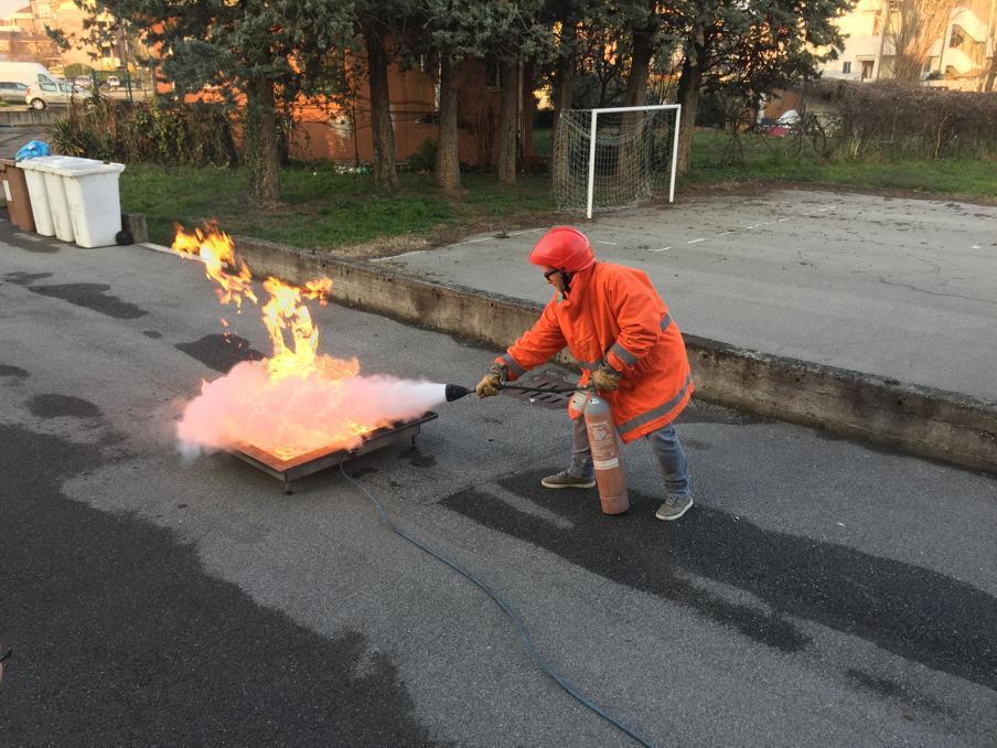 Corso aggiornamento antincendio