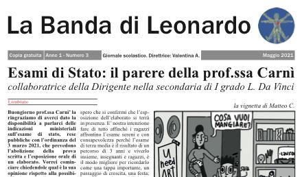 Nuovo numero del giornalino scolastico!!